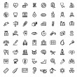 Medicine & Heath Care icons — Vector de stock