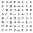 Medicine & Heath Care icons — Stockvektor  #40157535