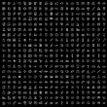 Vector black 400 universal web icons set — Stock Vector