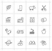 耕作图标 — 图库矢量图片