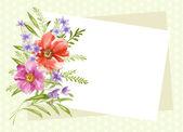 Flowers arranged — 图库照片