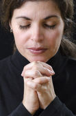 Woman Praying — Foto Stock
