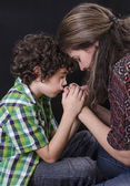 Family Praying — Stock Photo