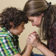 Family Praying — Stock Photo #13342305
