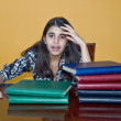 Stressed Teenager — Stockfoto