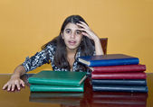 Stressed Teenager — Stock Photo