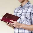 Man Reading the Bible — 图库照片