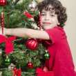 Youth and Christmas — Stockfoto