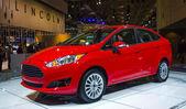 2014 Ford Fiesta Titanium — Stock Photo