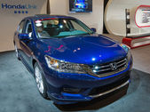 Toronto's International Auto Show 2013 — Stock Photo