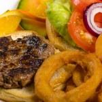 Hamburger Details — Stock Photo