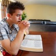 Stock Photo: Latin Teenager Praying