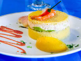 Causa: Traditional Peruvian Dish — Stock Photo