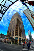 Yonge and Bloor in Toronto — Stock Photo