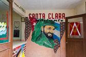 Fidel Castro Sign in Santa Clara Cuba — Stock Photo