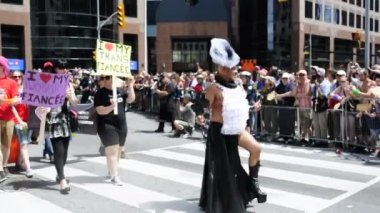 Toronto Pride Parade 2013 — Vídeo Stock