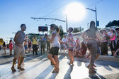 Dancing on St Clair Salsa Festival — Stock Photo