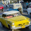 Foto de Stock  : Old Car Running