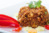 Cuban Fried Rice — Stock Photo
