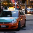 Stock Video: Beck Taxi