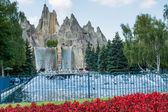 カナダズ ワンダーランド-最大の遊園地の 1 つ世界で — ストック写真