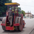 Obsolete Street Roller in Cuba — Stock Photo