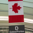 Details of Toronto's Airport — Stock Photo