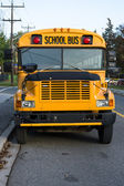 Traditional Yellow School Bus — Stock Photo
