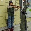 Subway Musician in Toronto — Stock Photo