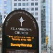 St Andrew's Church in Downtown Toronto,Canada — Stock Video #35847127