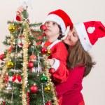 Beautiful Christmas Tree Scene — Stock Photo #36824387
