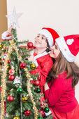 Weihnachten zu hause — Stockfoto
