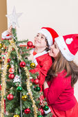 рождество в доме — Стоковое фото