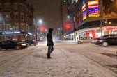 Toronto Under a Snowfall — Stock Photo