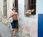 House that sells meat in Cuba — Stock Photo
