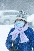 Toronto vinter blast — Stockfoto