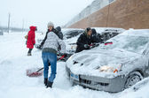Toronto Winter Blast — Stock Photo