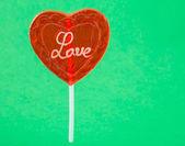 Valentine Day Lollipop — Foto Stock