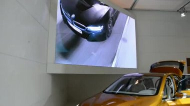 BMW X4 at the CIAS 2014 — Stock Video