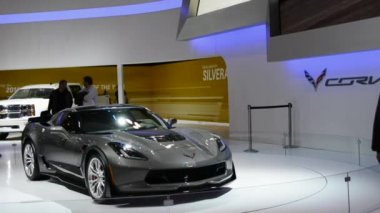 Chevrolet Corvette Stingray at CIAS 2014 — Stock Video