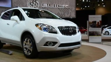 Buick Enclave seen at CIAS 2014 — Stock Video