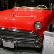 Old Vintage Red Buick seen at CIAS 2014 — Stock Video #41382179