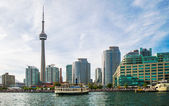 CN Tower and Waterfront of Toronto — Stock Photo