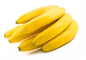 Bunch of large riped bananas — Stock Photo