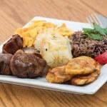 Traditional Cuban Cuisine — Stock Photo