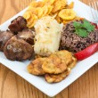 Traditional Cuban Cuisine — Stock Photo #41792455