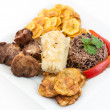 Traditional Cuban Cuisine — Stock Photo