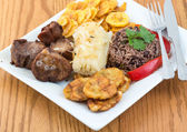 Traditional Cuban Cuisine — Foto Stock