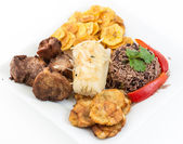 Traditional Cuban Cuisine — 图库照片