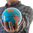 The world in my hands — Stock Photo #42212901